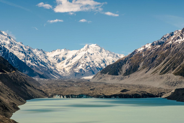 Tasman Glacier und Tasman Glacier Lake