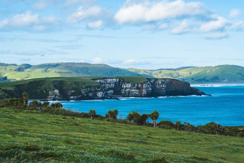 Küste in den Catlins