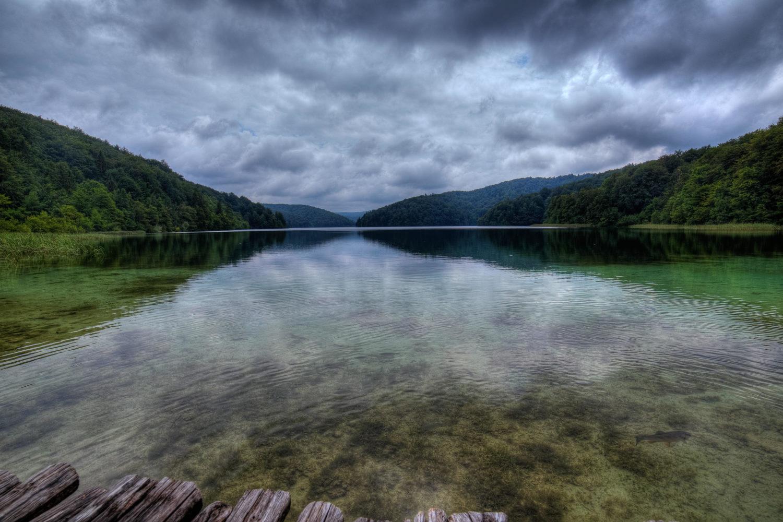 Ufer im Nationalpark Plitvicer Seen