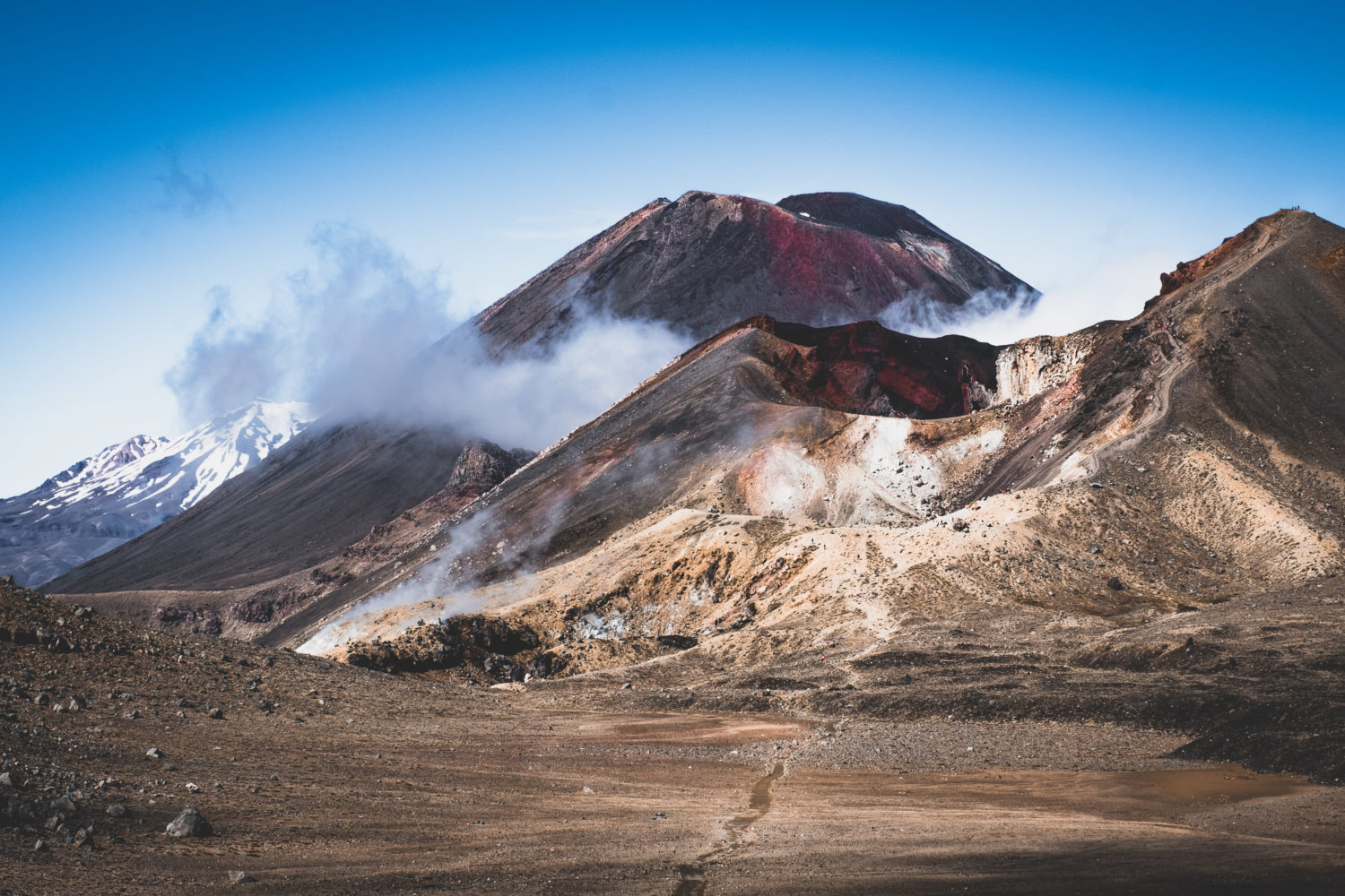 Red Crater und Mt. Ngauruhoe
