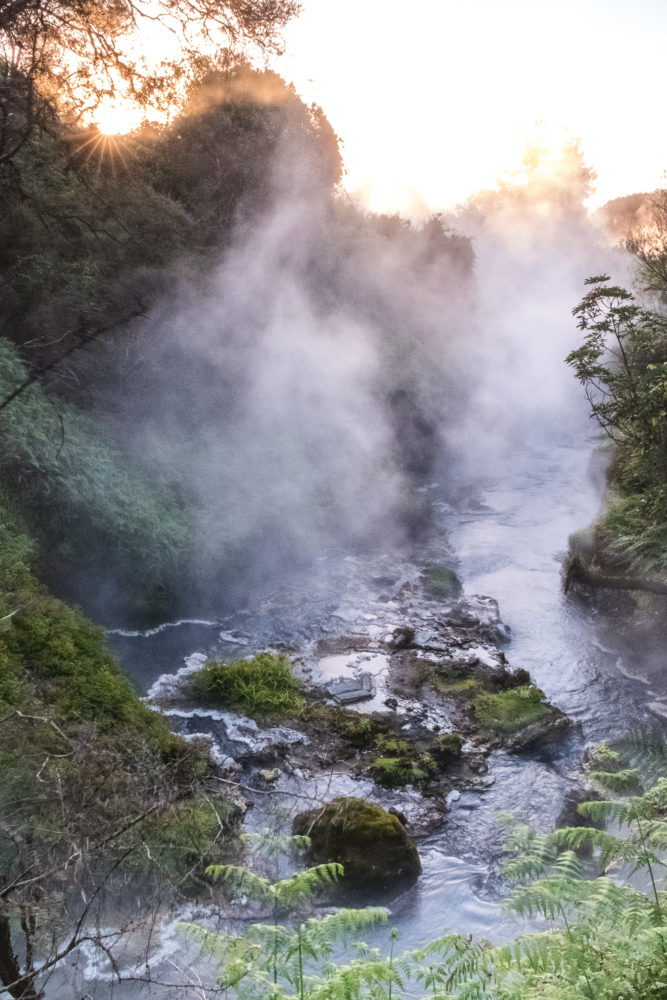 Heiße Quelle der Waikite Valley Hot Pools