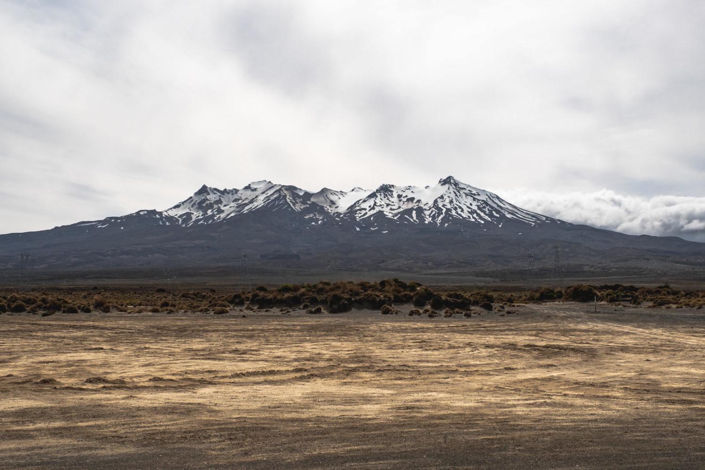 Mount Ruapehu im Tongariro National Park in Neuseeland