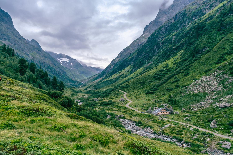 Blick ins Tal Richtung Schottensee