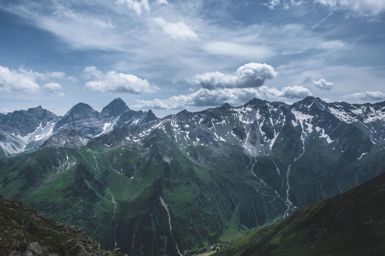 Bergkuppen im Stubaital